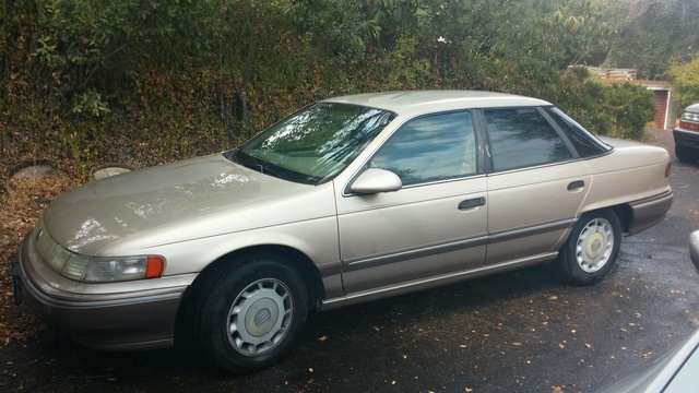 1992 Mercury Sable 4 Dr GS Sedan, 92 Mercury Sable 4D GS. $1,000.00 OBO. Please call 209-628-4130 after 3 p.m., exterior
