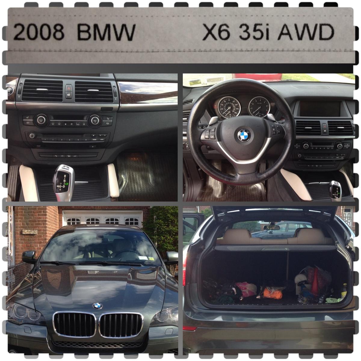 Bmw X6 Xdrive50i Review: 2008 BMW X6