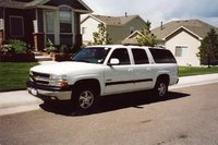 1996 Chevrolet Suburban, White with Navy Blue Leather, exterior