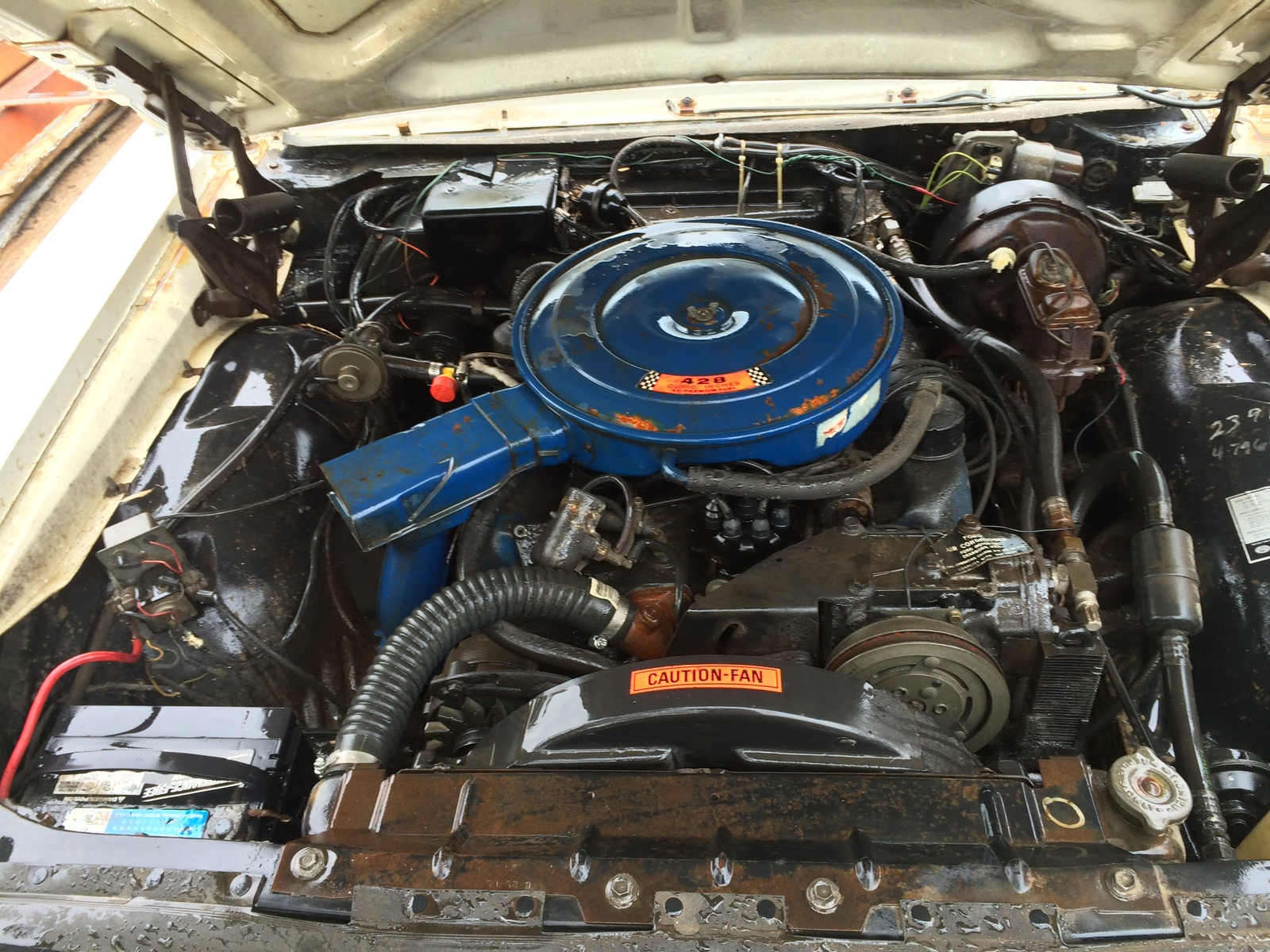 1968 Ford Country Squire picture, engine