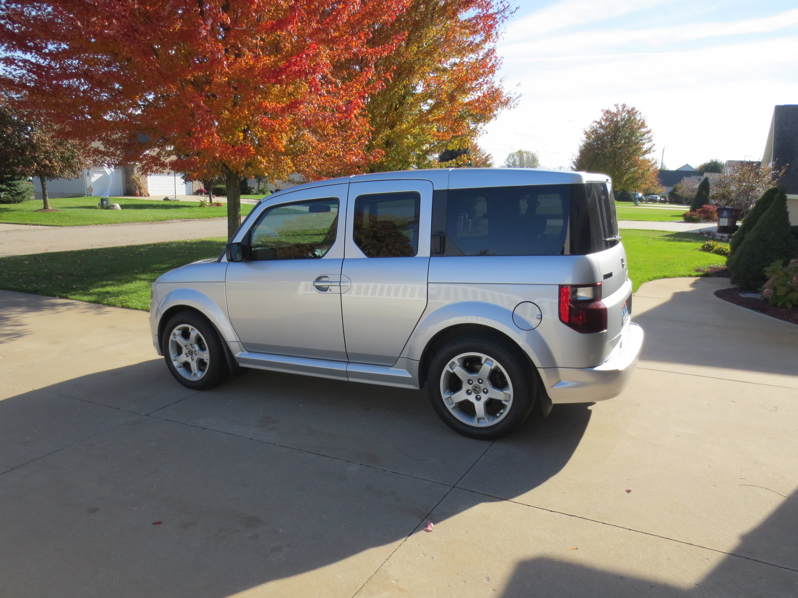 picture of 2007 honda element 2 dr sc exterior. Black Bedroom Furniture Sets. Home Design Ideas
