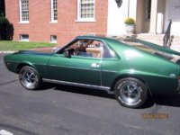 1969 AMC AMX Overview
