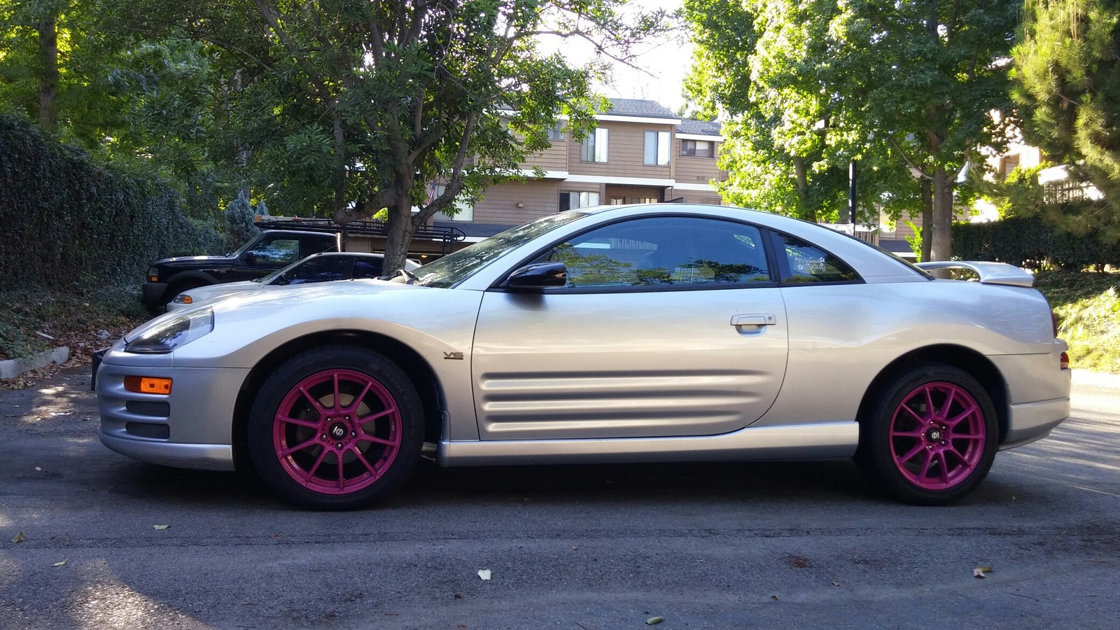 picture of 2001 mitsubishi eclipse gt exterior. Black Bedroom Furniture Sets. Home Design Ideas