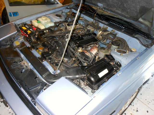 1985 Nissan 200SX XE Coupe, CA20E NAPS X Engine, engine, gallery_worthy