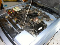 1985 Nissan 200SX XE Coupe, CA20E NAPS X Engine, engine