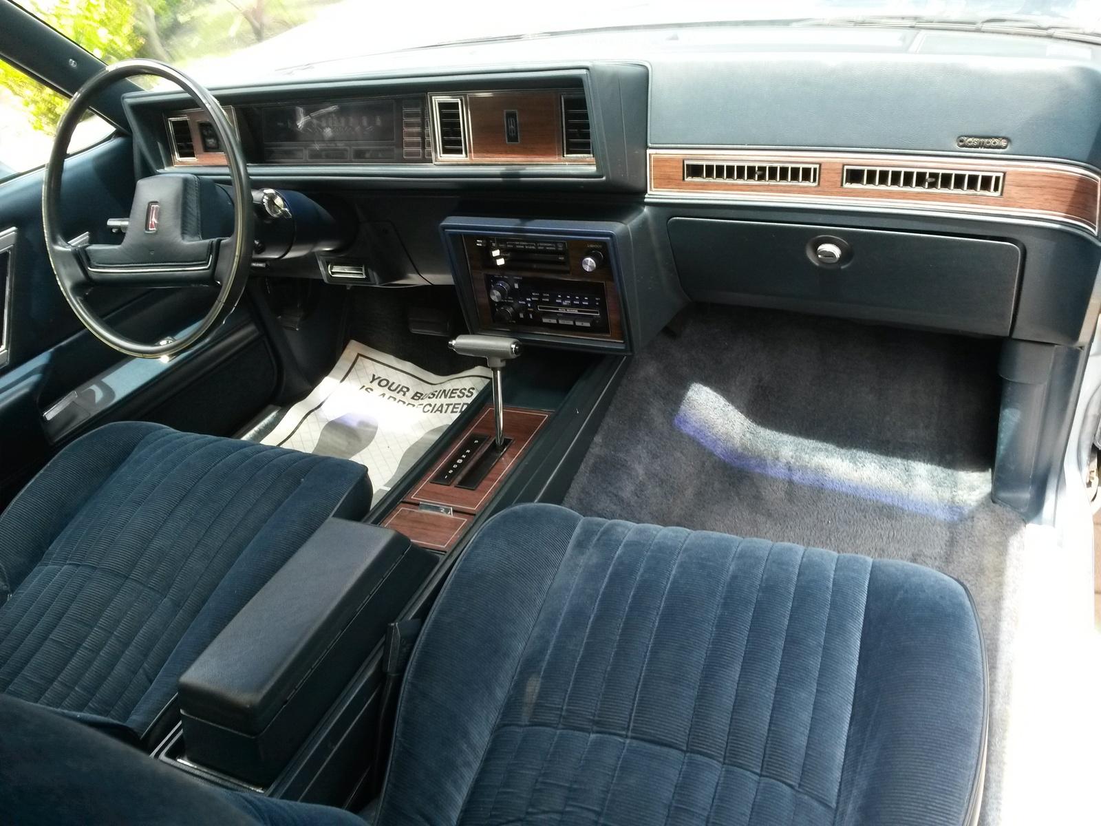 1988 Oldsmobile Cutlass Supreme Interior Pictures Cargurus