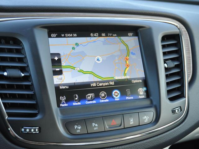 2015 Chrysler 200 C Sedan AWD, 2015 Chrysler 200C Uconnect 8.4 Navigation Display Screen, interior, gallery_worthy