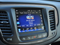2015 Chrysler 200 C AWD, 2015 Chrysler 200C Uconnect 8.4 Radio Display Screen, interior