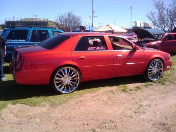 Cadillac DeVille On 24 Inch Rims