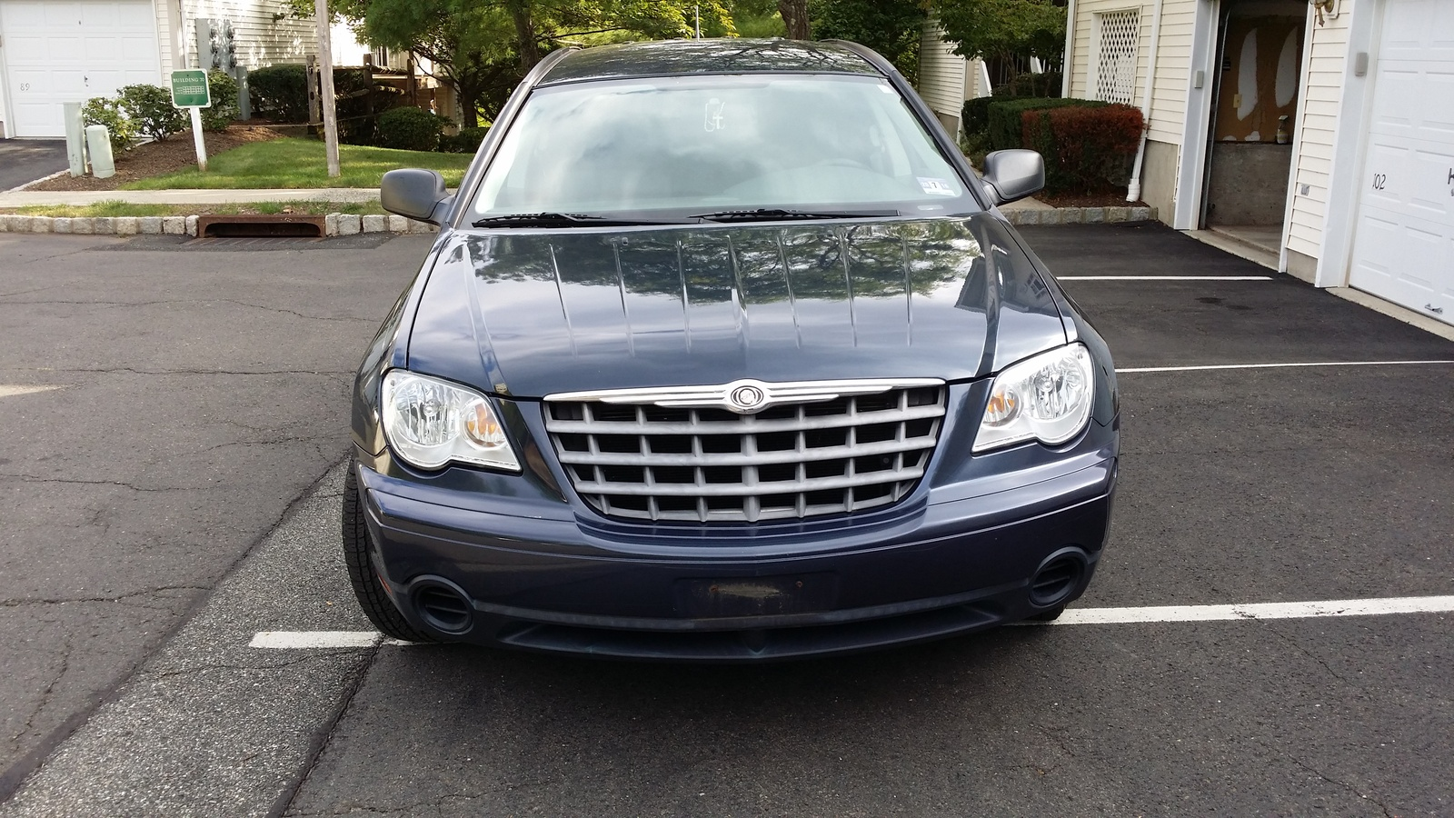 picture of 2007 chrysler pacifica 4 dr base exterior. Cars Review. Best American Auto & Cars Review