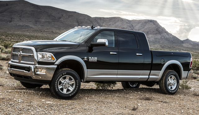 2015 Ram 2500, Front-quarter view, exterior, manufacturer, gallery_worthy