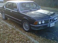 1985 BMW 7 Series Overview