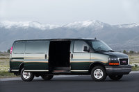 2014 GMC Savana Cargo, Front-quarter view. Copyright General Motors, exterior, manufacturer