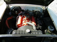 Picture of 1958 Chevrolet Bel Air, engine