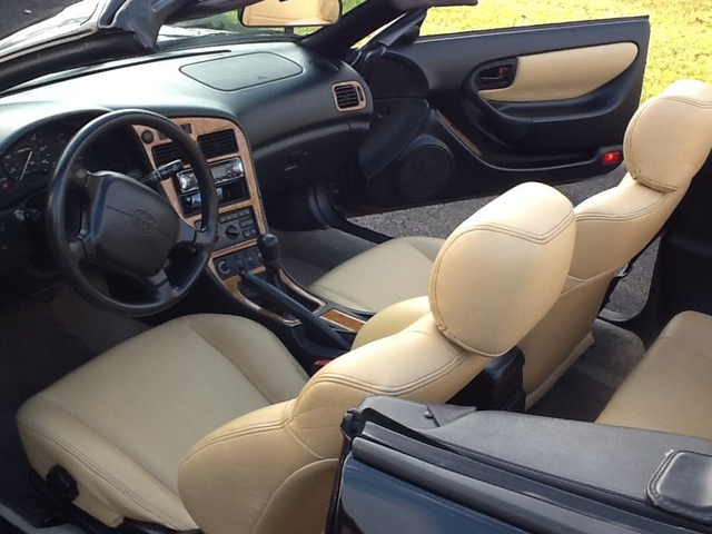 Picture of 1997 Toyota Celica GT Limited Edition Convertible, interior