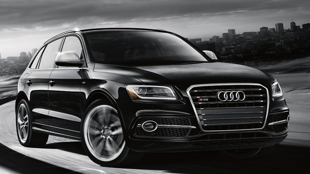 2015 Audi SQ5, Front-quarter view, exterior, manufacturer, gallery_worthy
