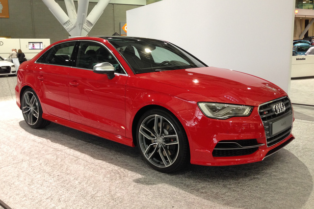 2015 Audi S3, Front-quarter view, exterior, gallery_worthy
