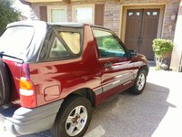 Picture of 2002 Chevrolet Tracker Base Convertible, exterior