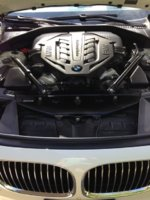 Picture of 2012 BMW 7 Series 750i xDrive, engine