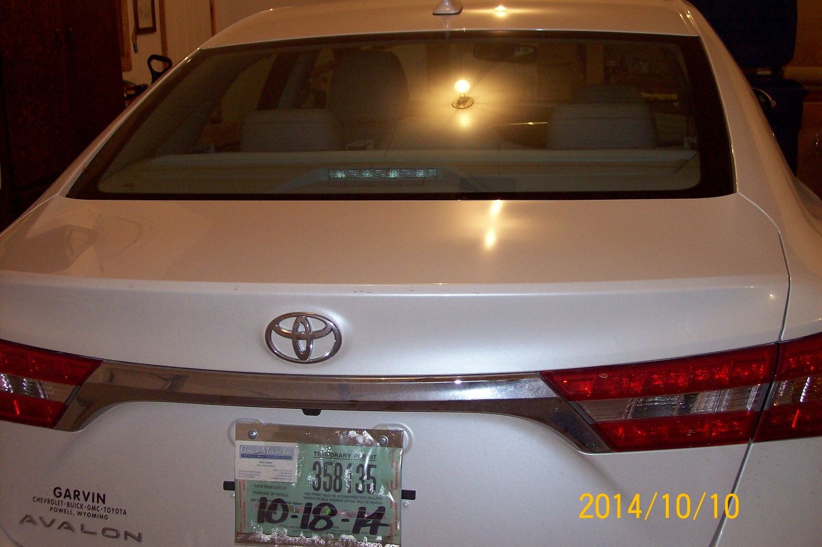 Picture of 2014 Toyota Avalon Limited