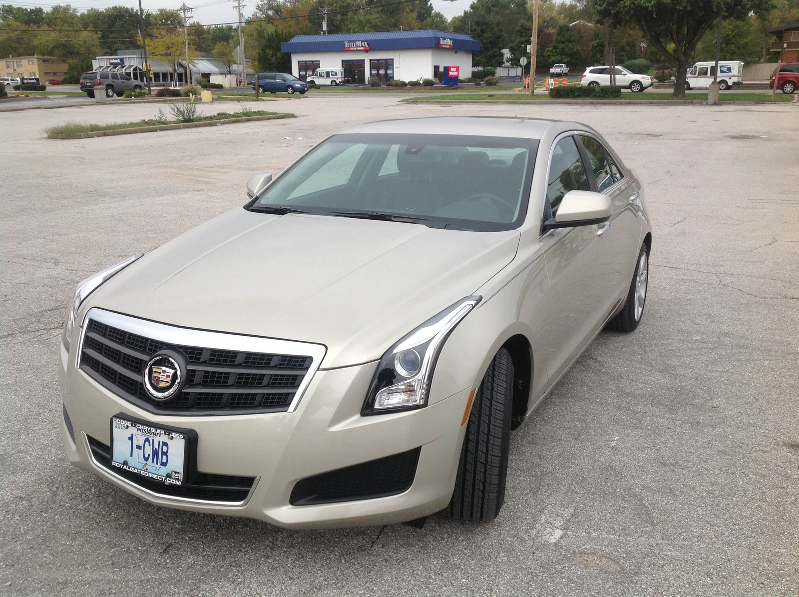 Picture of 2014 Cadillac ATS 2.0T