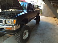 Picture of 1995 Toyota Pickup 2 Dr SR5 4WD Extended Cab SB, engine