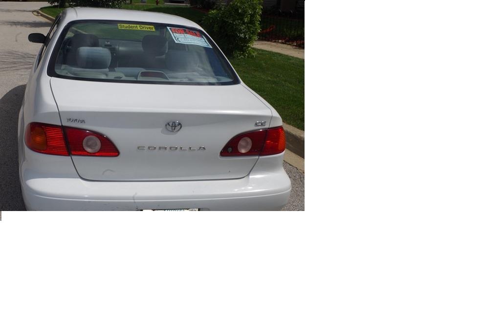 Toyota Corolla Interior 2002 2002 Toyota Corolla