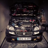 Picture of 1996 Honda Civic EX Coupe, engine