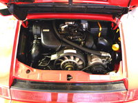 Picture of 1993 Porsche 911 Carrera Convertible, engine
