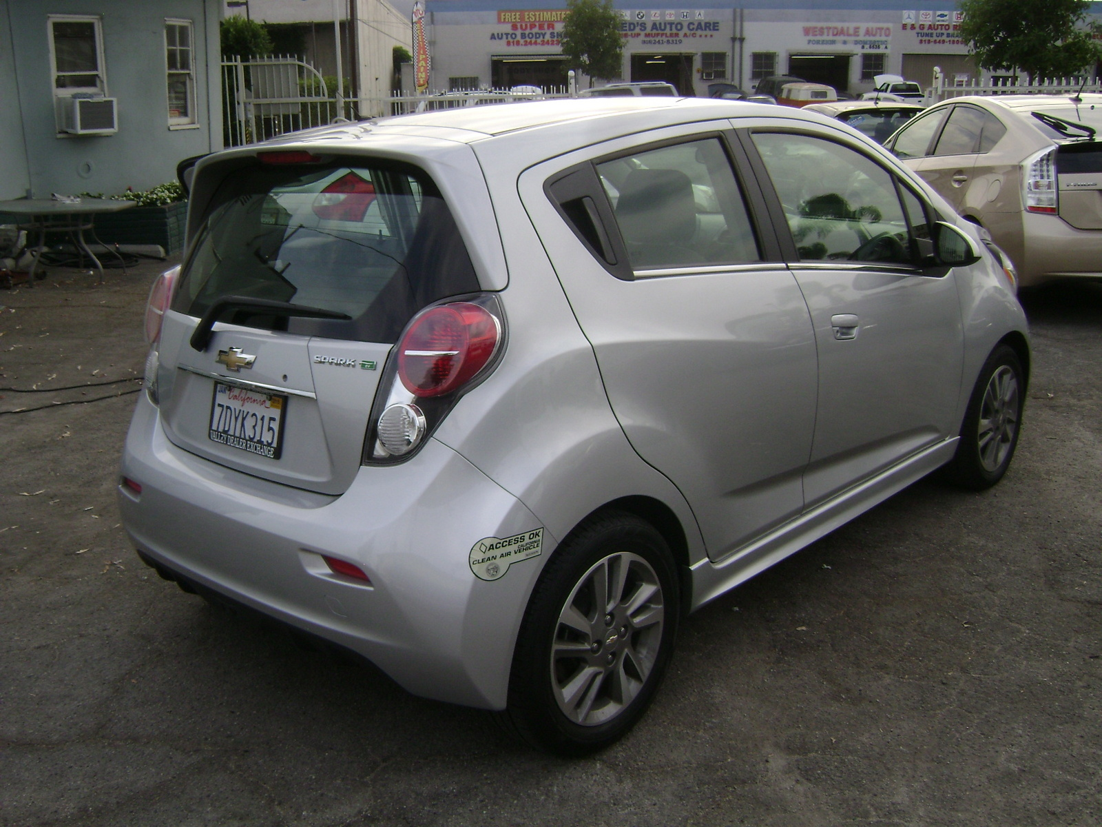 new 2015 chevrolet spark ev for sale cargurus. Black Bedroom Furniture Sets. Home Design Ideas