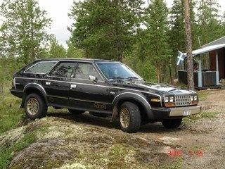 1984 AMC Eagle, Amc Eagle 4 x 4, exterior