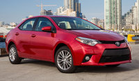 2015 Toyota Corolla, Front-quarter view, exterior, manufacturer