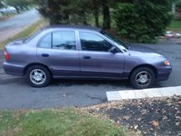 Picture of 1999 Hyundai Accent 4 Dr GL Sedan, exterior
