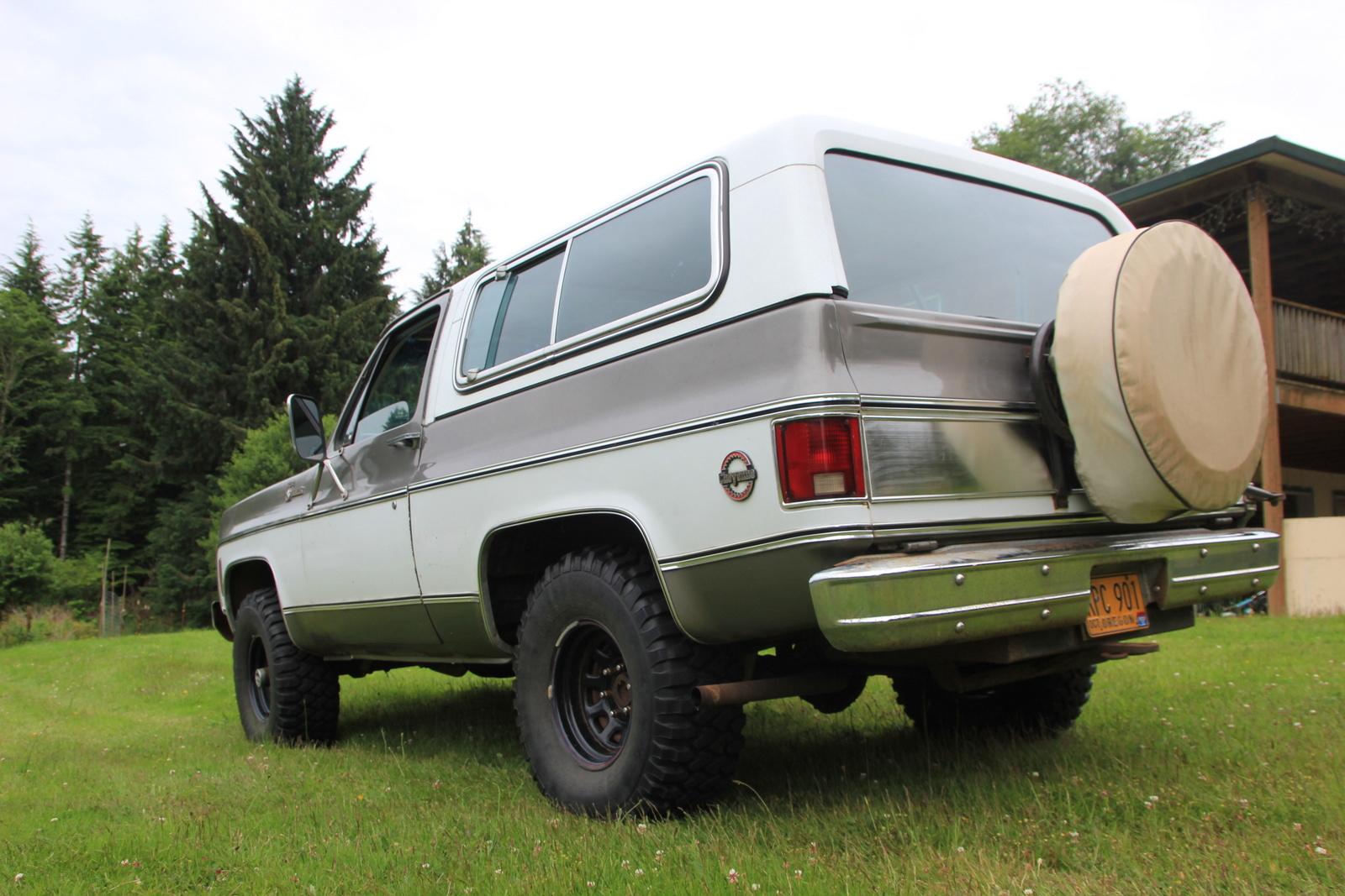 Picture of 1978 Chevrolet Blazer