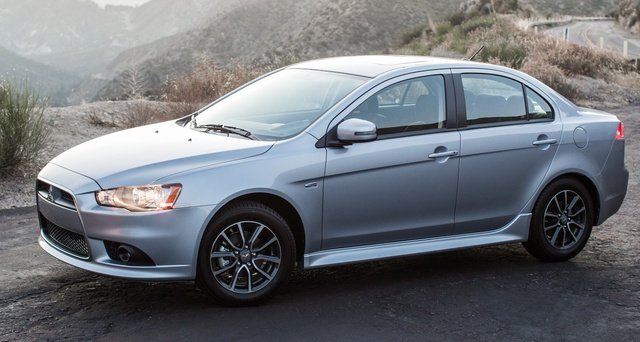 2015 Mitsubishi Lancer, Front-quarter view, exterior, manufacturer, gallery_worthy