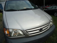 2002 Toyota Sienna CE, great van ,low miles ,runs excellent, exterior