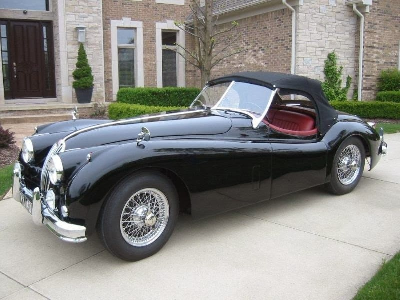 1957 jaguar xk140 overview cargurus