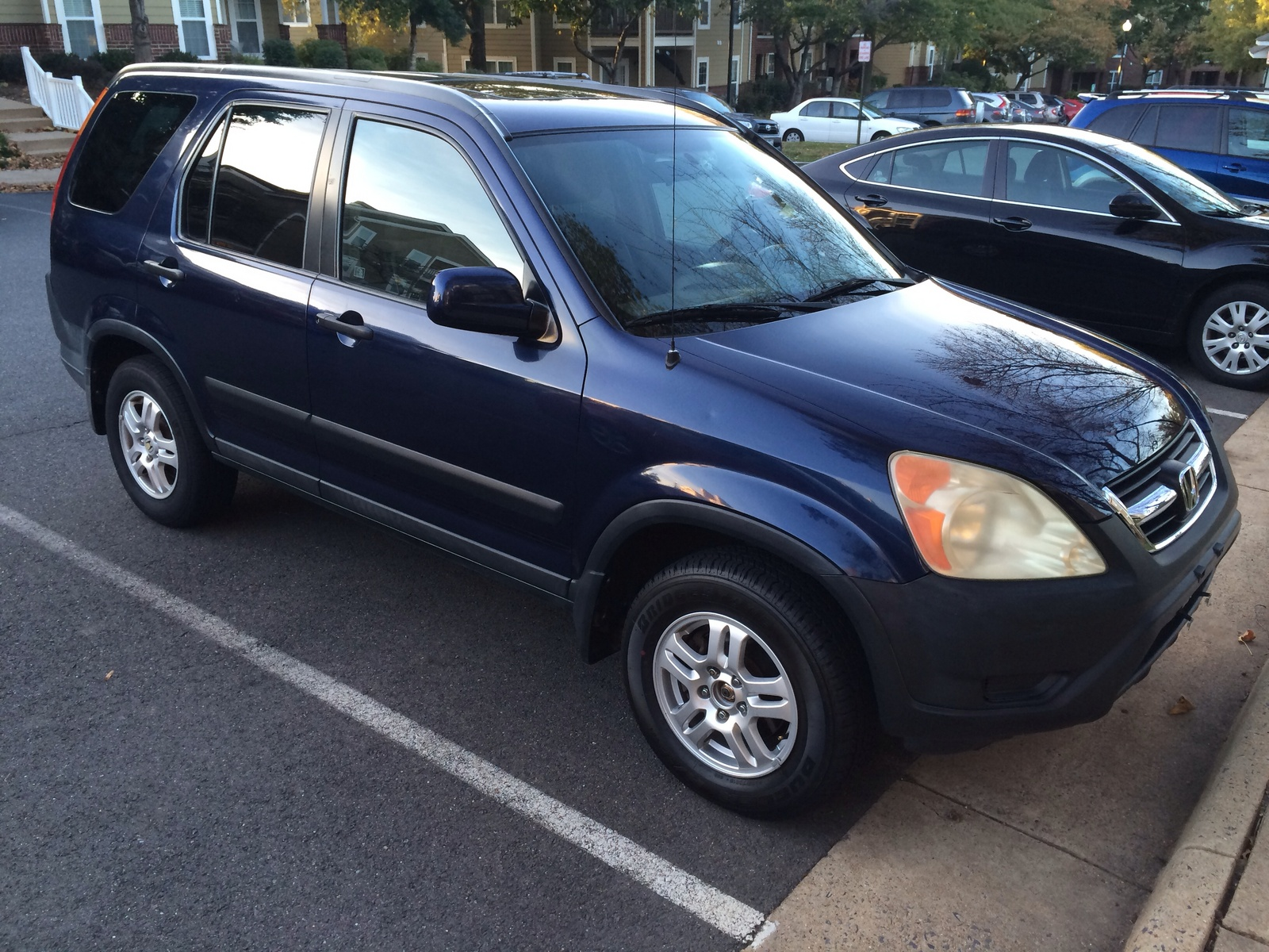 Picture Of 2004 Honda Cr V Ex Awd Exterior