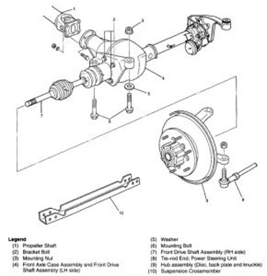 honda passport auto transmission diagram