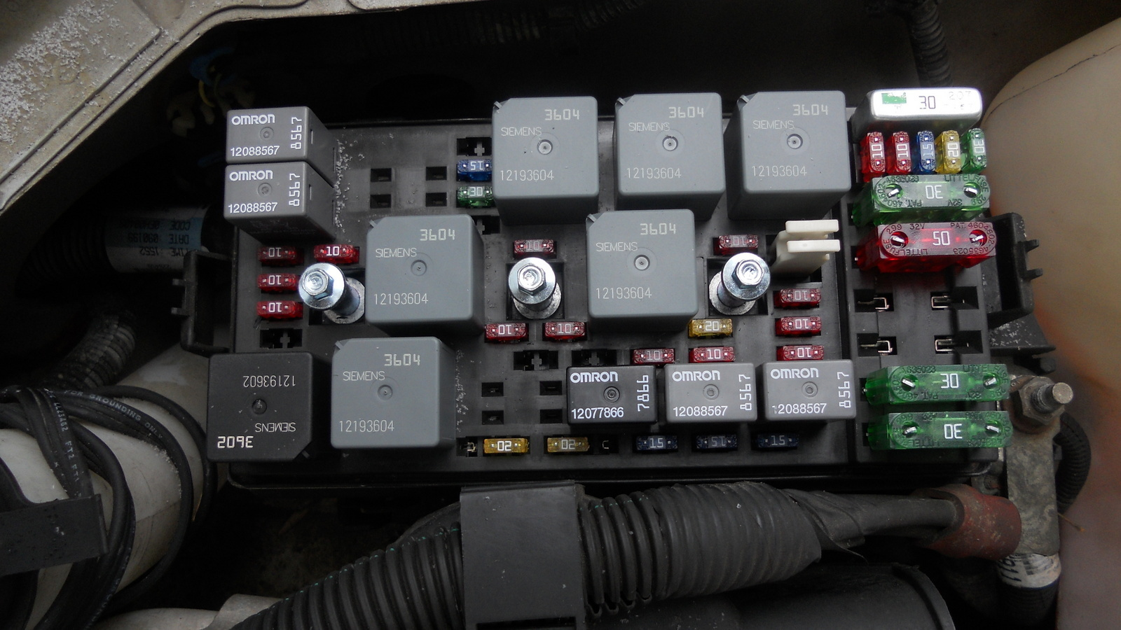 Chevy Kodiak Fuse Box - Electrical Work Wiring Diagram •