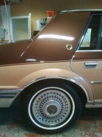 """1983 Lincoln Continental Valentino, Continental """"Valentino"""", exterior"""