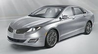 2015 Lincoln MKZ, Front-quarter view, exterior, manufacturer, gallery_worthy