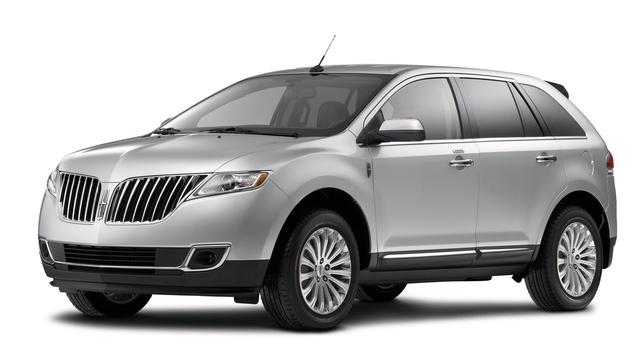 2015 Lincoln MKX, Front-quarter view, exterior, manufacturer
