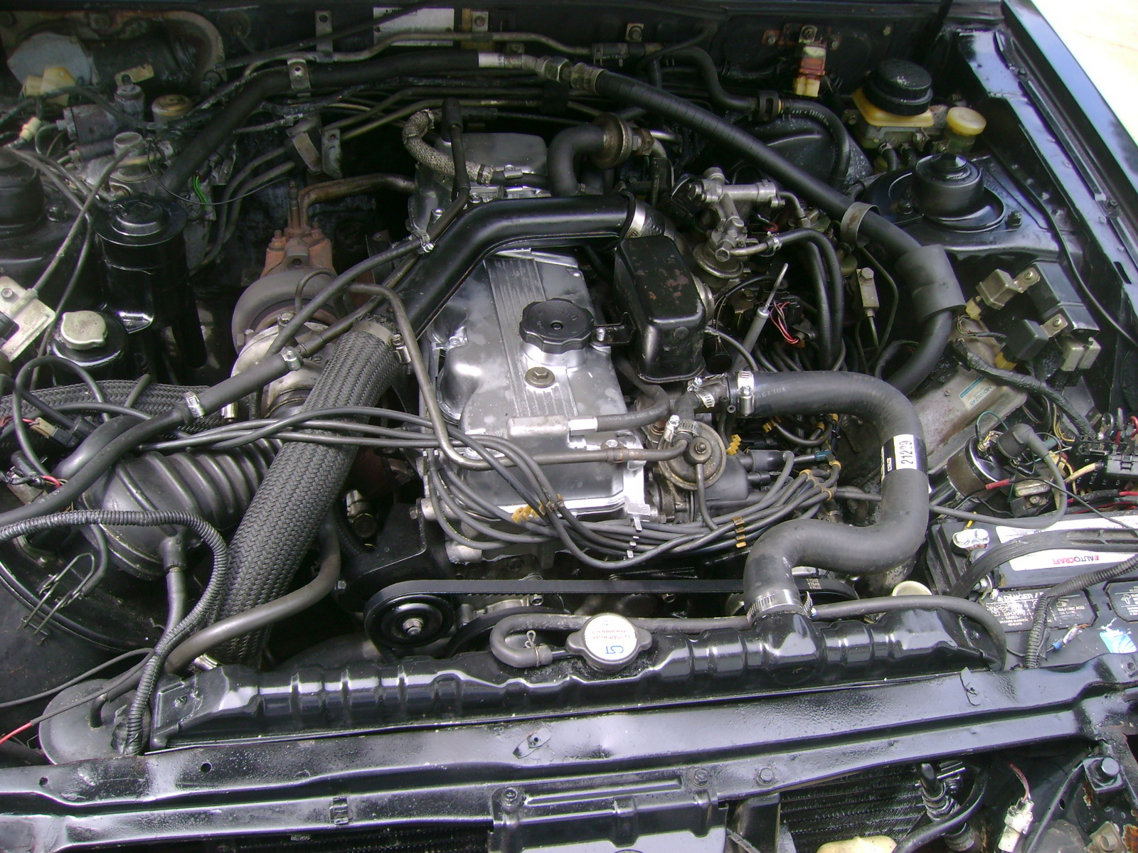 Picture of 1988 Mitsubishi Starion ESI 2+2 Turbo Hatchback, engine
