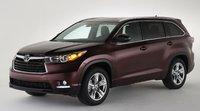 2015 Toyota Highlander, Front-quarter view, exterior, manufacturer