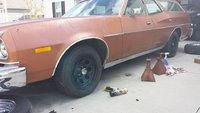 1976 Ford Torino, A side view w/ the new Cragar Soft 8's as I'm getting her road worthy., exterior
