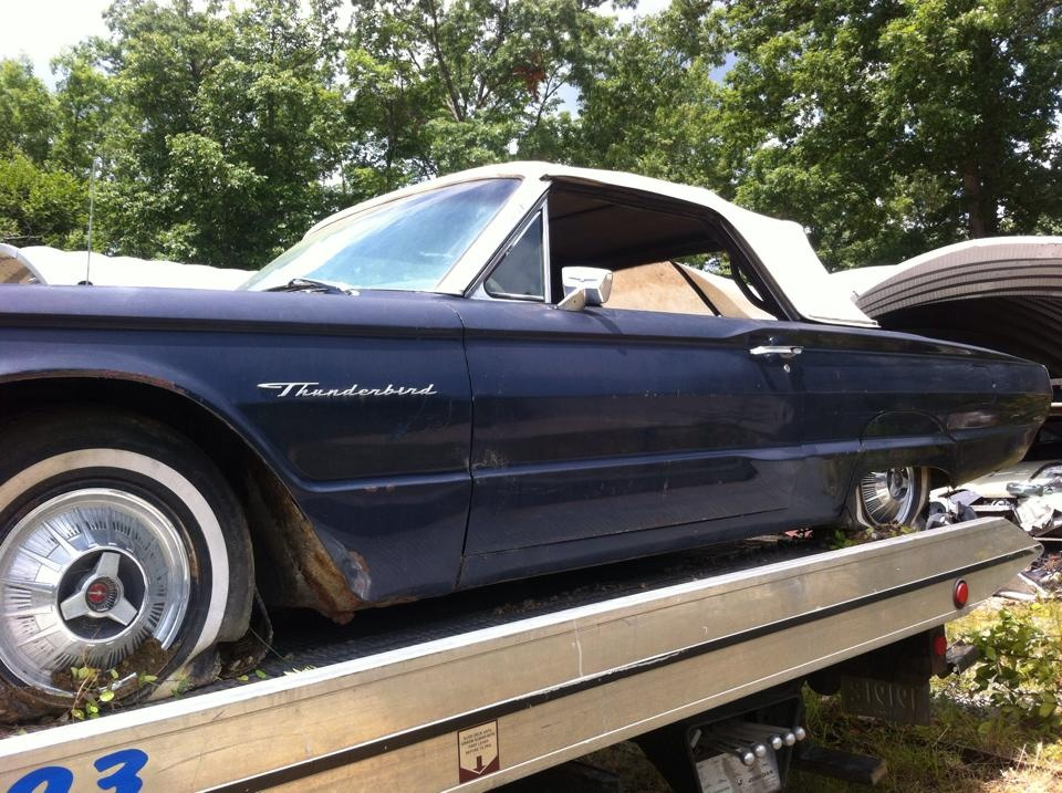 The 1964 Ford Thunderbird received a major restyling  changing it from    Ford Thunderbird 1964