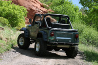 1986 Jeep CJ7, GForce T-5 transmission rated at 650 lbs. 8.8 Ford Explorer rear end with 14 disc brakes., exterior