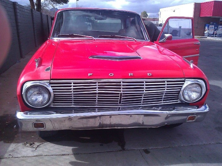 Ford Falcon Questions - 1963 FORD falcon runs rough, really jumpy