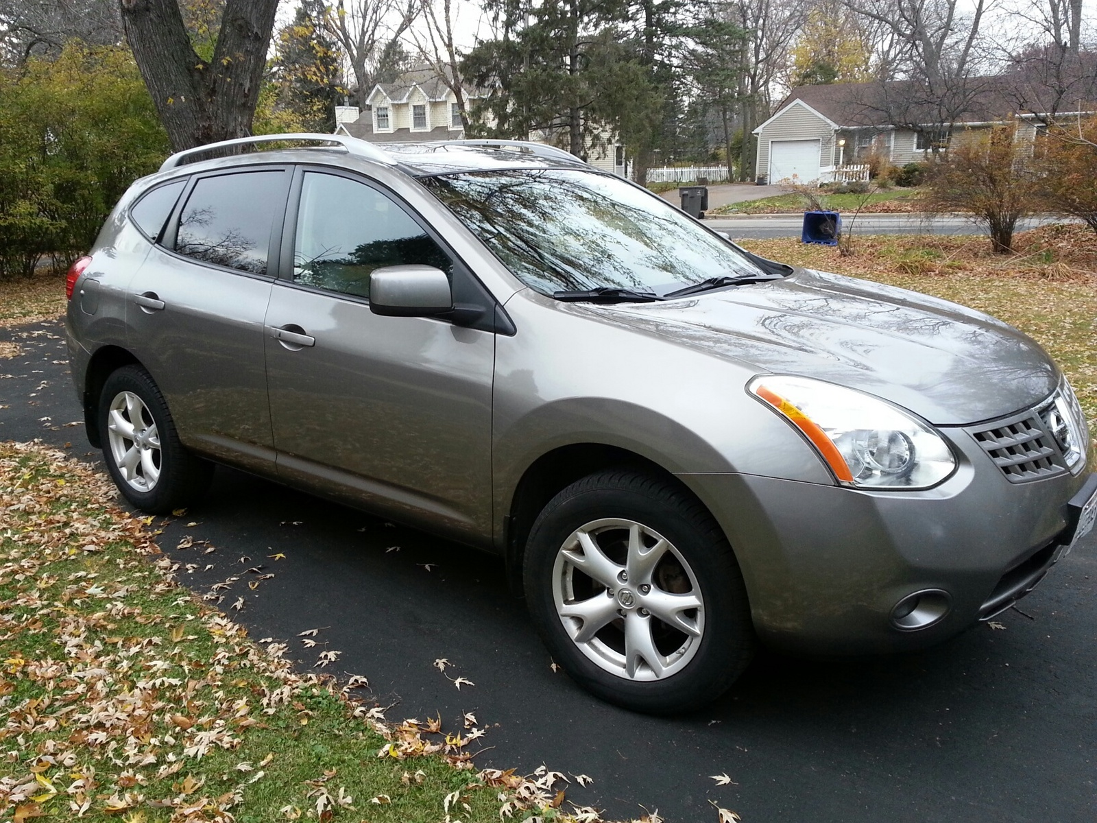 picture of 2008 nissan rogue sl awd exterior. Black Bedroom Furniture Sets. Home Design Ideas